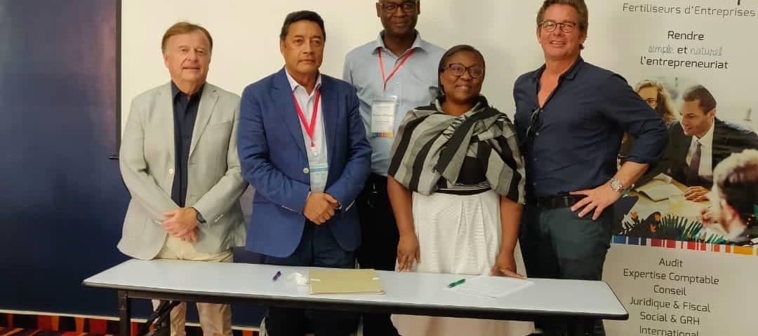 Adhésion du cabinet «Catein Gérard» Antananarivo, Madagascar au réseau Exco Afrique