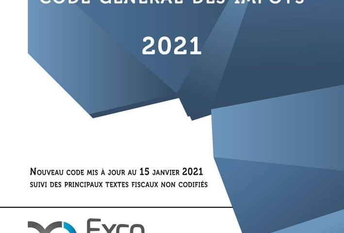 Parution du Code général des impôts de Mauritanie, Édition 2021 actualisée